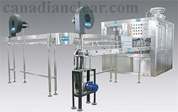 Automatic Rinser Filler Capper